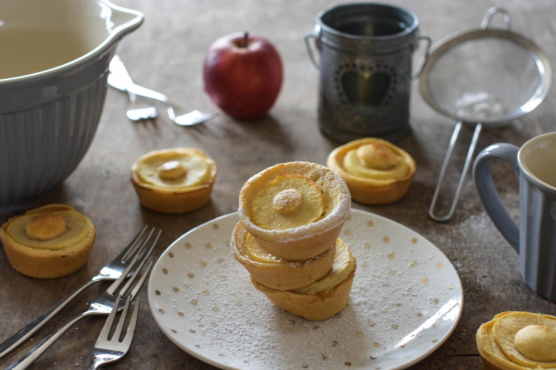 Gesunde Apfelkuechlein/Apfelringe