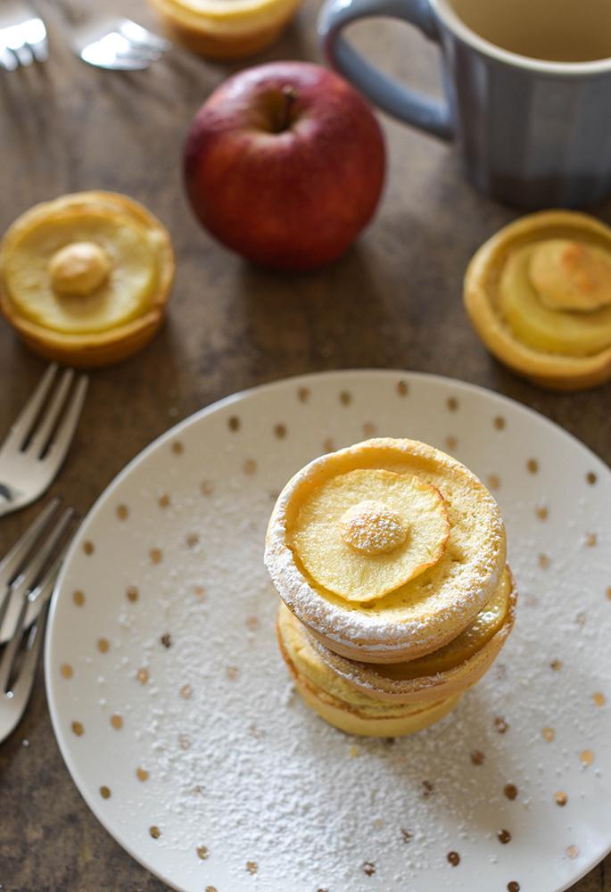 Gesunde Apfelkuechlein