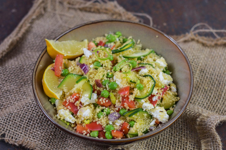 Couscous-Salat mit Gemüse