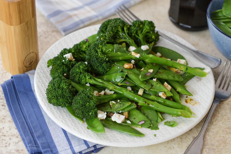 Stangenbrokkoli-Salat