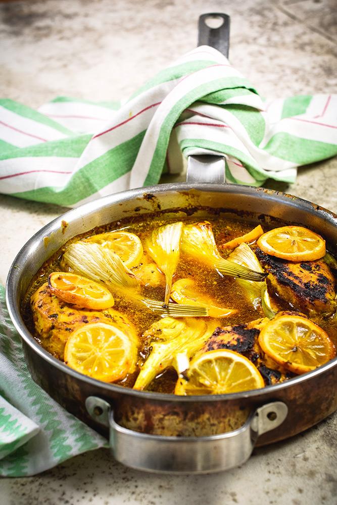 Zitronen-Haehnchen