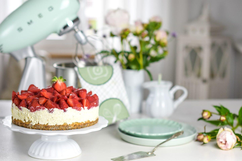Erdbeer-Mohn-Kuchen
