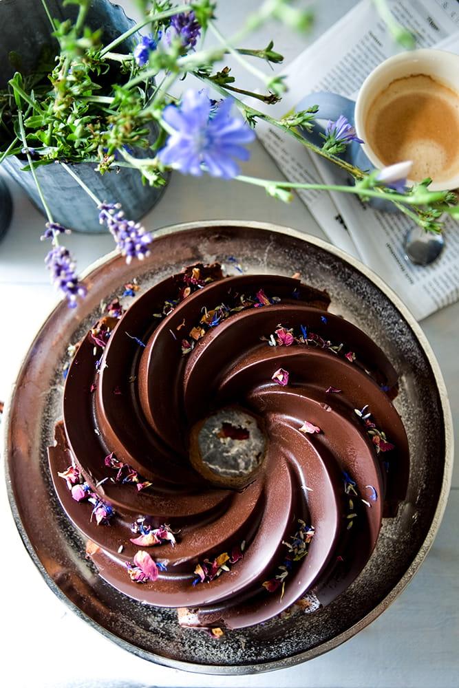 Herrenkuchen (Schokoladen-Rotweinkuchen)
