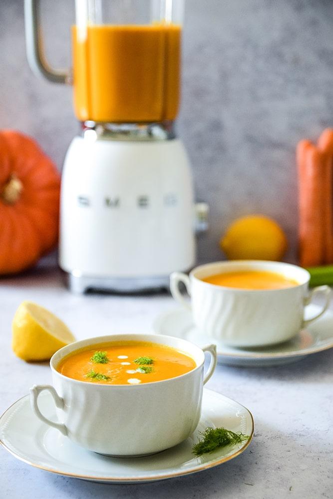Karotte-Ingwer-Suppe
