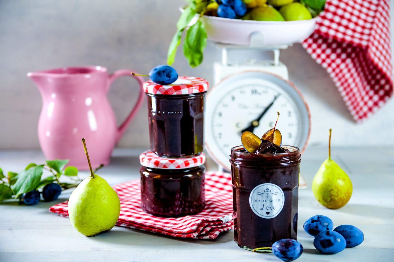Zwetschgen-Birnen-Marmelade