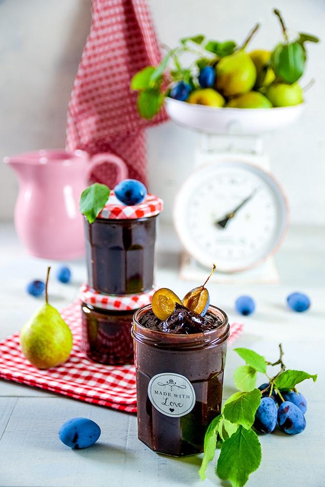 Zwetschgen-Birnen Marmelade