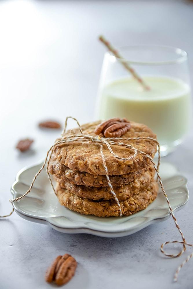 Gesunde Haferflocken-Kokos-Kekse
