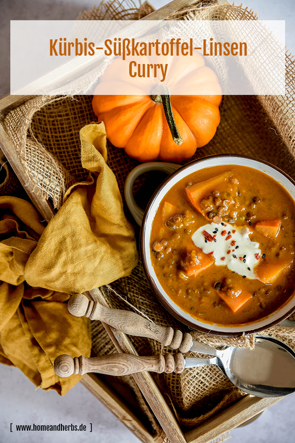 Kuerbis-Suesskartoffel-Linsen-Curry
