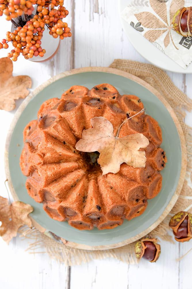 Pekanuss-Blaubeer-Kuchen