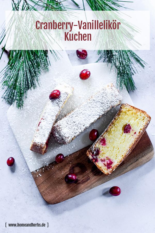 Cranberry-Kuchen