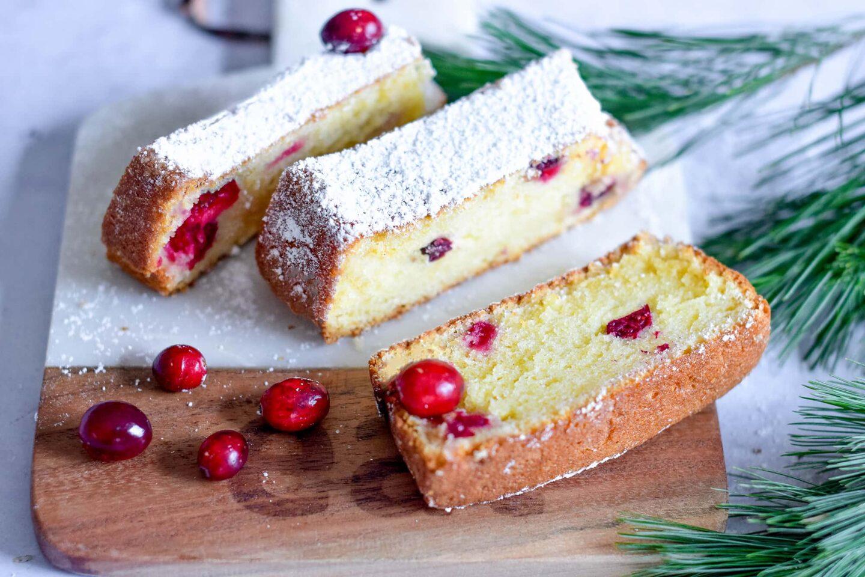 Cranberry-Vanillelikör-Kuchen
