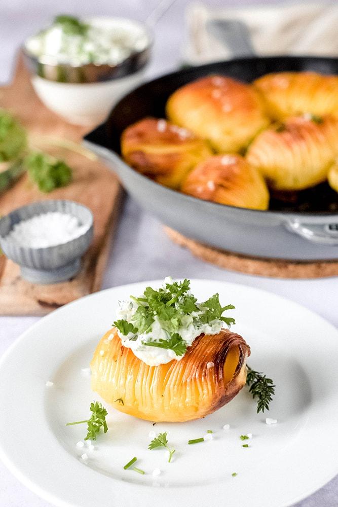 Hasselback Ofenkartoffeln