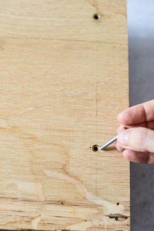 Holztablett selbst basteln
