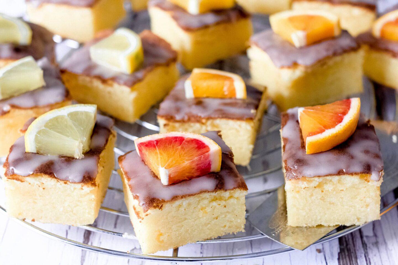 Zitrusfrüchte-Kuchen