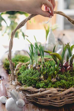 DIY-Osterkorb dekorieren