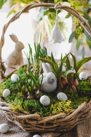 Frühlingshafte Osterdeko