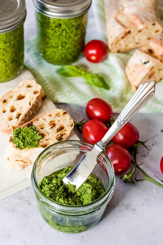 Bärlauch-Pesto Bärlauchrezept