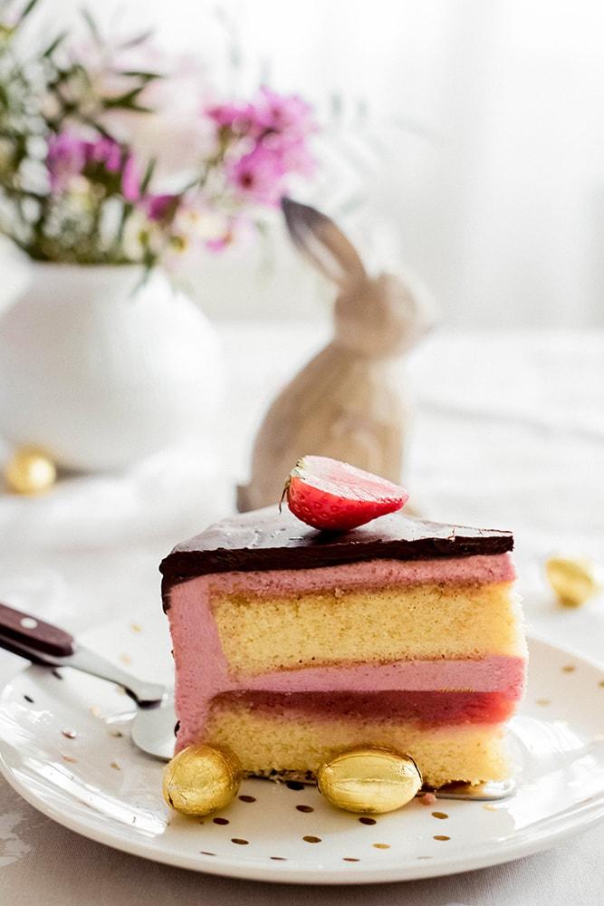 Rhabarber-Beeren-Torte