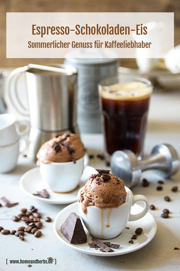 Espresso-Schokoladen-Eis
