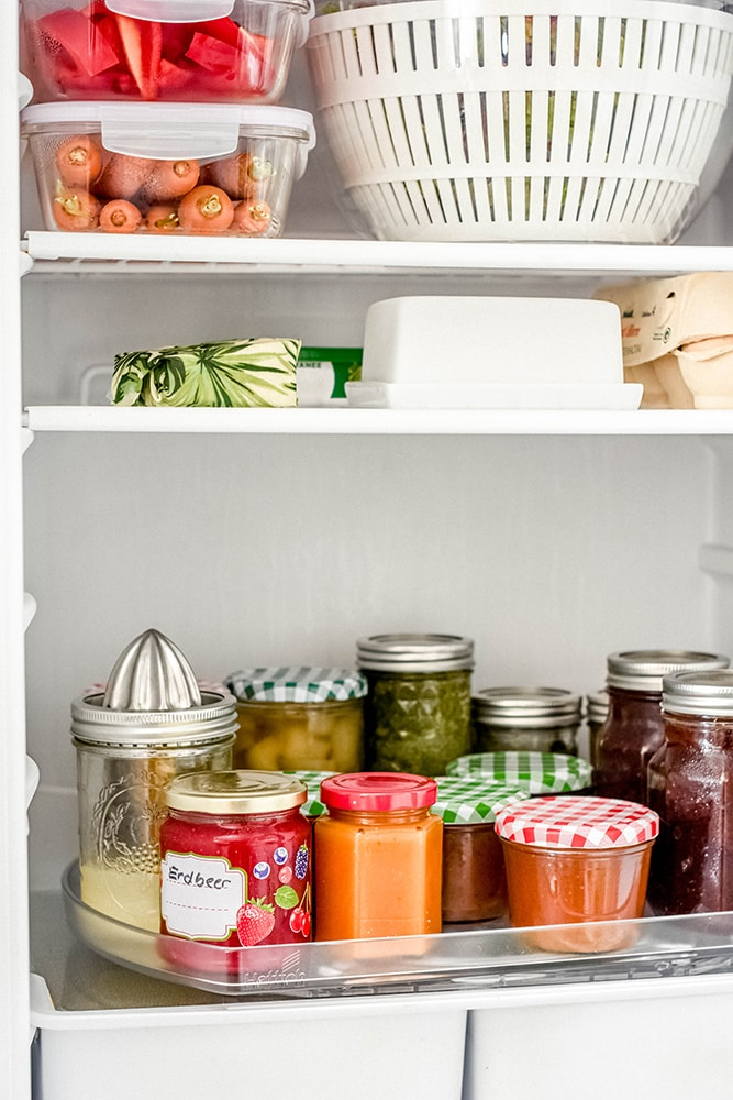 Ordnung im Kühlschrank - ComfortSpin von Hettich