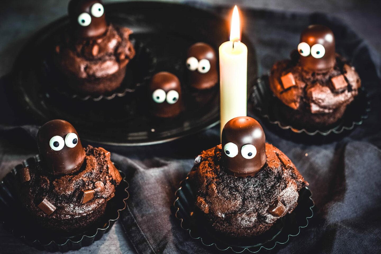 Halloween Rezept - Schokoladengeister