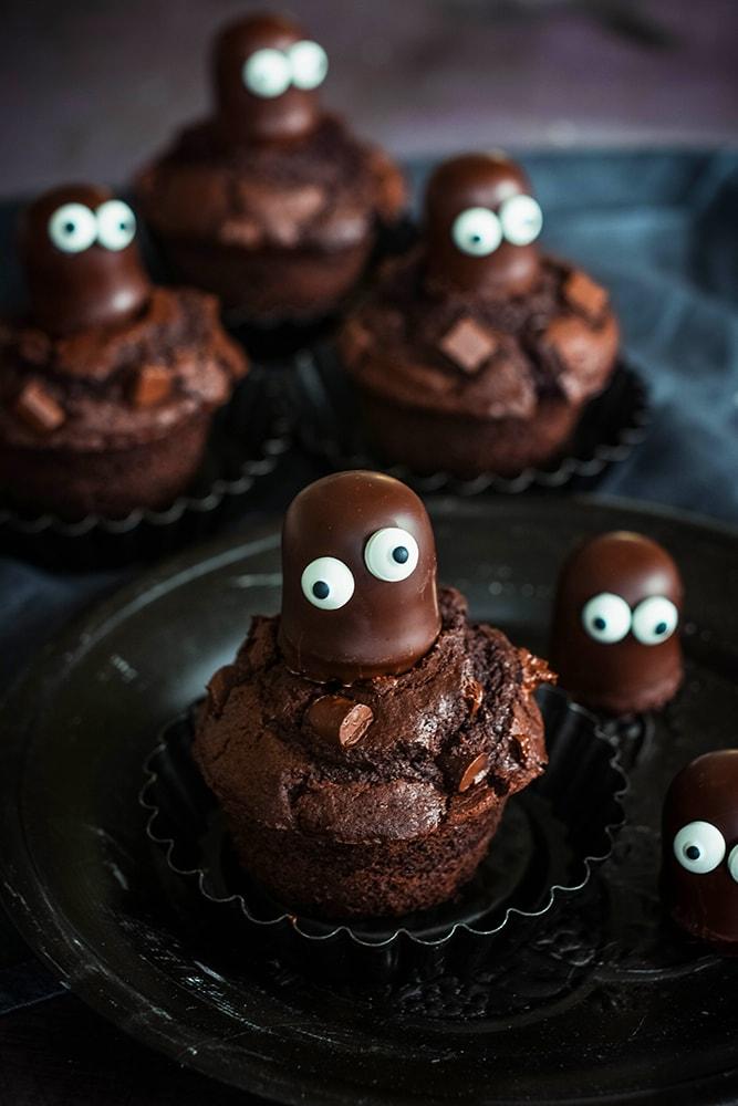 Schokogeister Halloweeeen Muffins