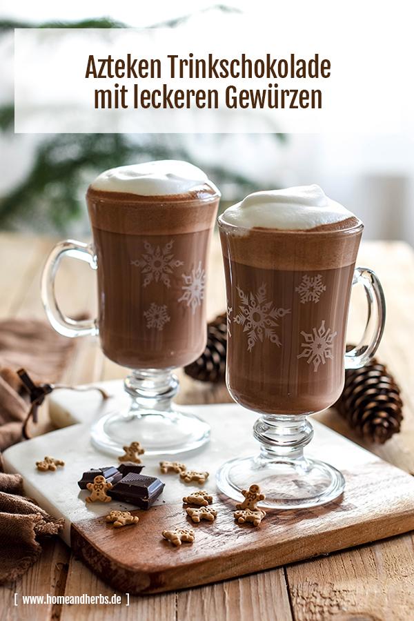 Azteken Trinkschokolade Kakao