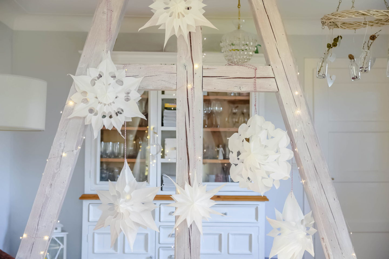 DIY-Weihnachtssterne - Papiersterne basteln
