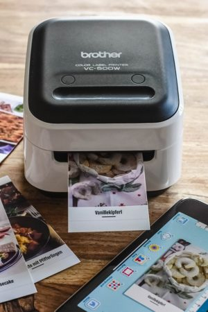 DIY-Wochenplaner / Brother Color-Label-Printer VC-500W