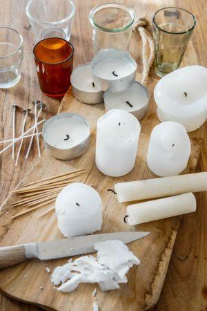 Upcycling: Kerzen giessen