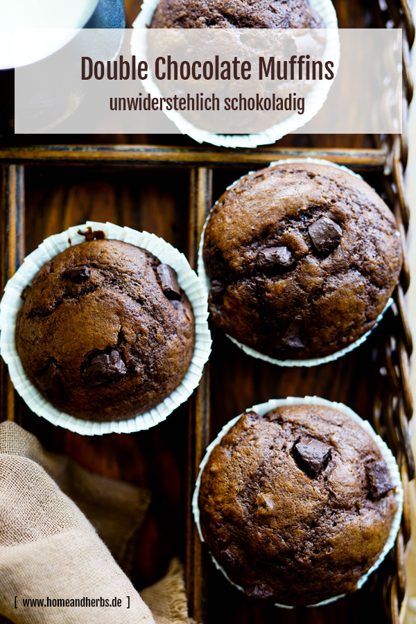 Doubl Chocolate Muffins