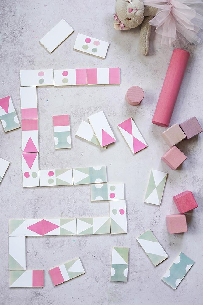 DIY-Domino - Mit Kindern basteln