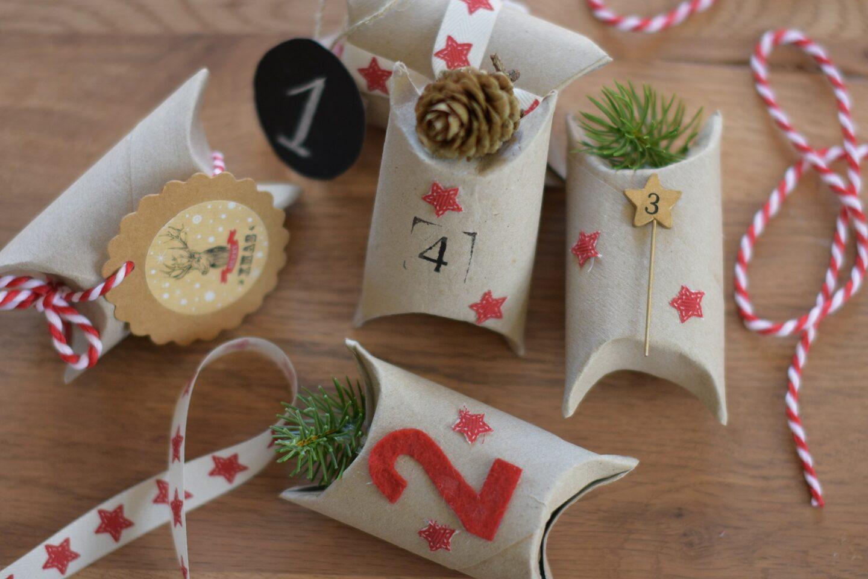 Geschenkverpackungen Adventskalender