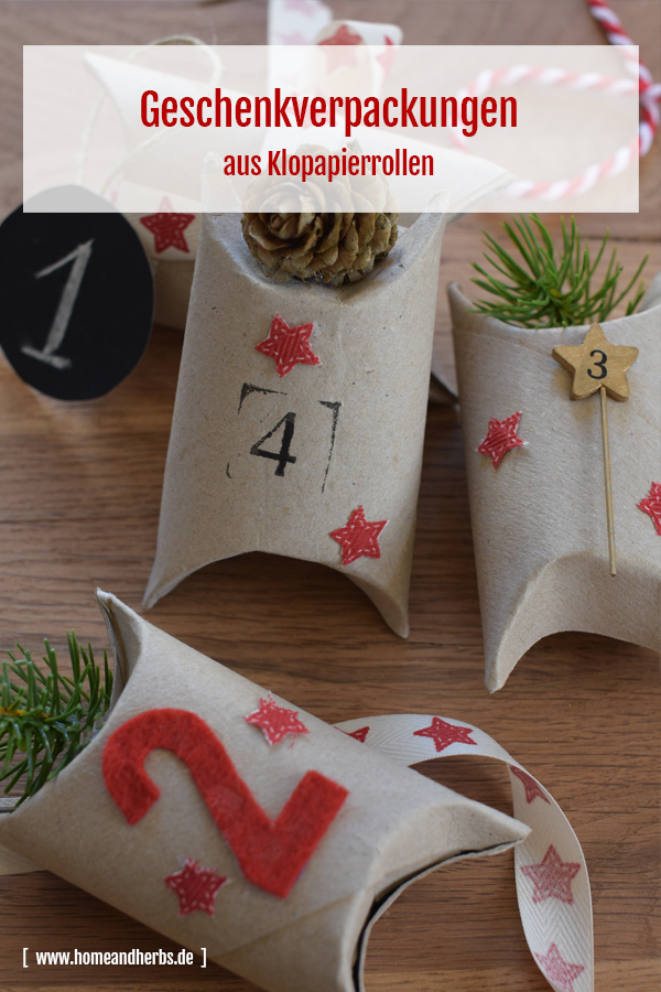 Adventskalender Geschenkverpackungen