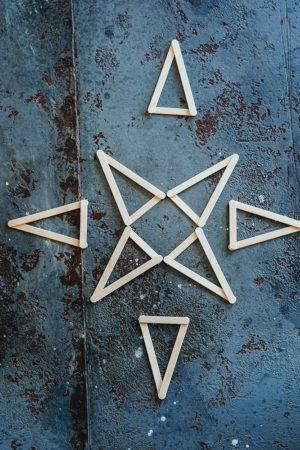 Weihnachtsstern DIY