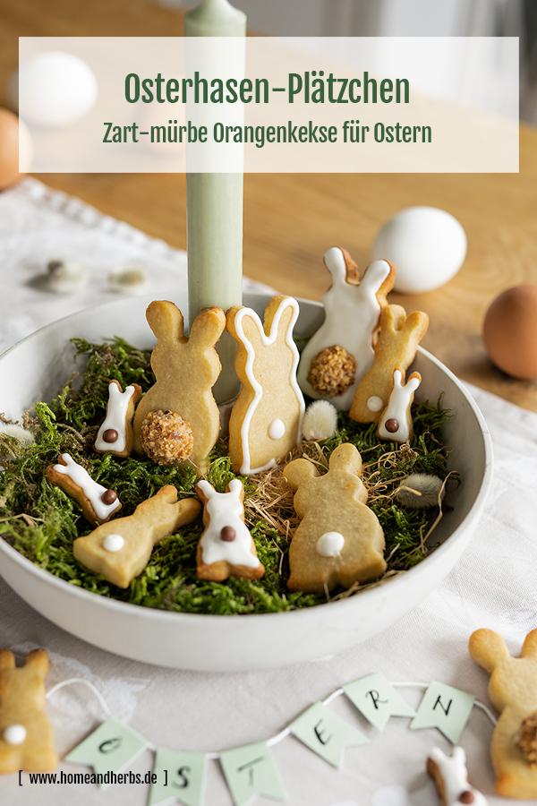 Hasenkekse für Ostern