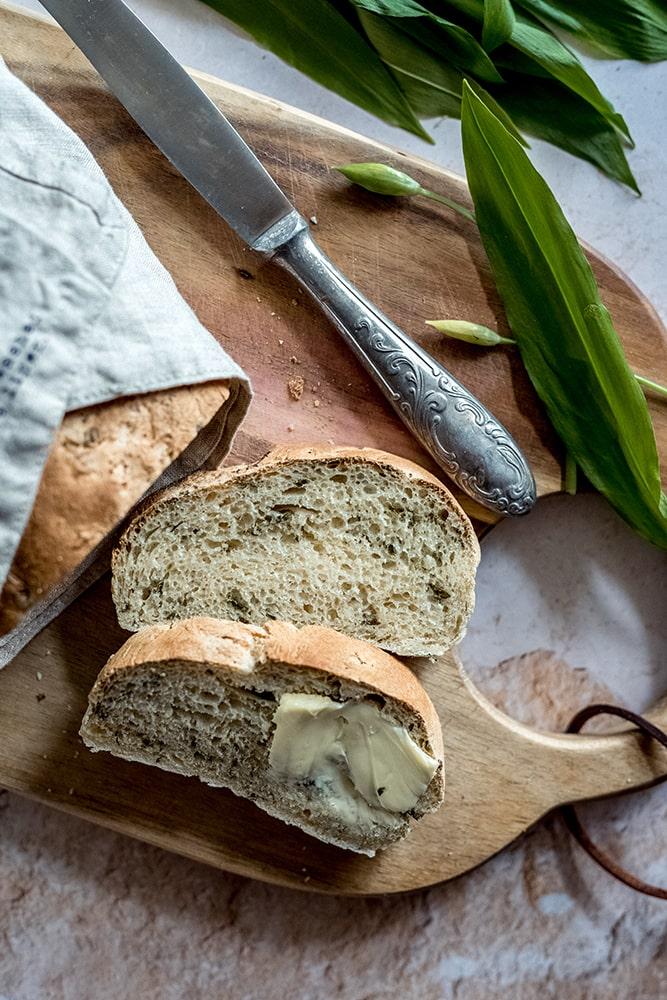 Ciabatta Bärlauch Brot