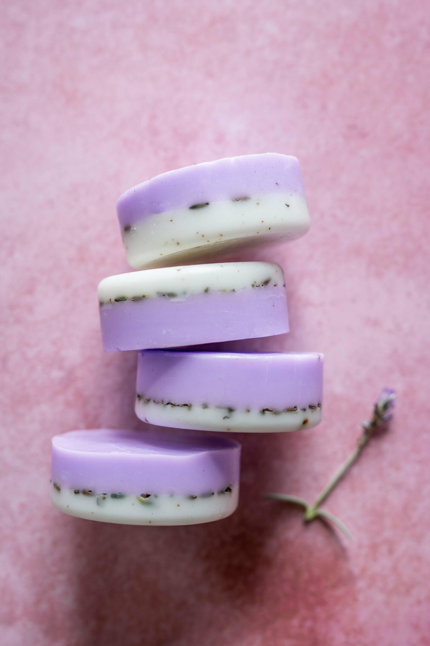 Lavendelseife DIY