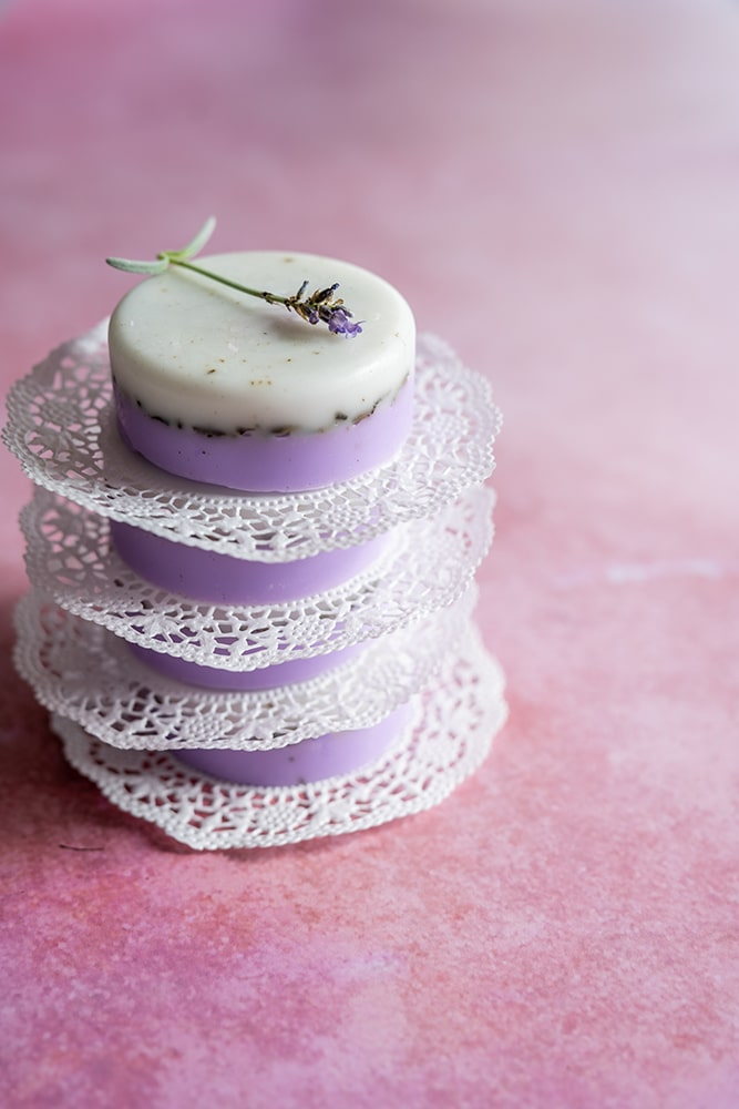 Lavendelseife herstellen