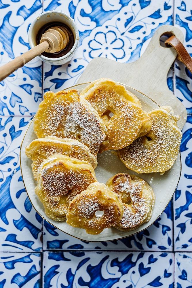 Apfelküchle-Rezept von Oma
