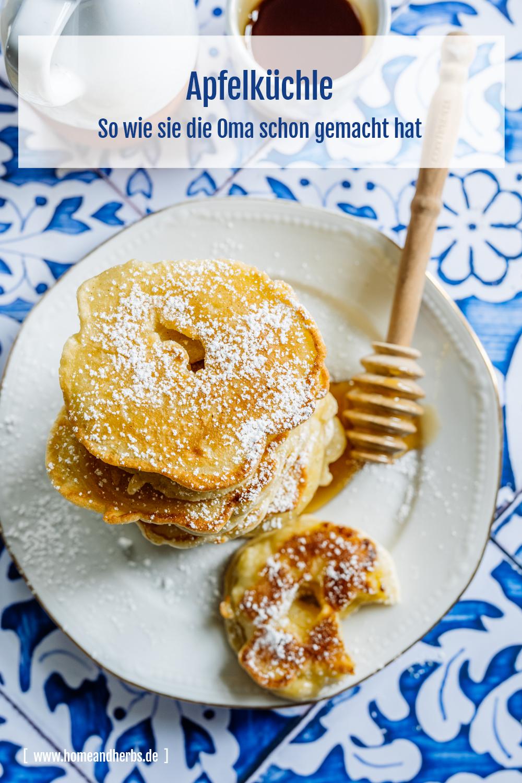 Apfelküchle / Apfelpfannkuchen