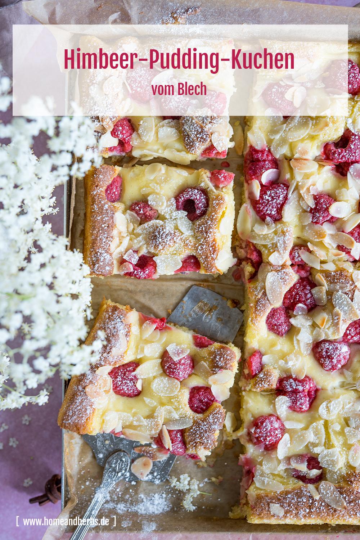 Himbeer-Pudding-Kuchen